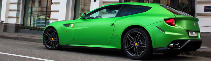 All Colours Of The Rainbow Ferrari Ff
