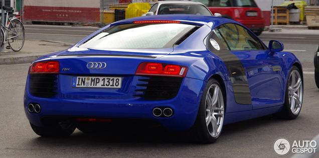 Sprint Blue A Lovely Colour On The Audi R8