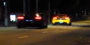 Видео: супер-кары на улицах São Paulo