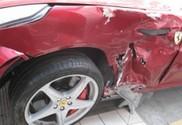 Авария Ferrari FF в Китае