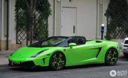 Style très américain: une Lamborghini Gallardo Spyder avec des jantes