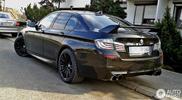 Spotted: BMW M5 F10 со спойлером