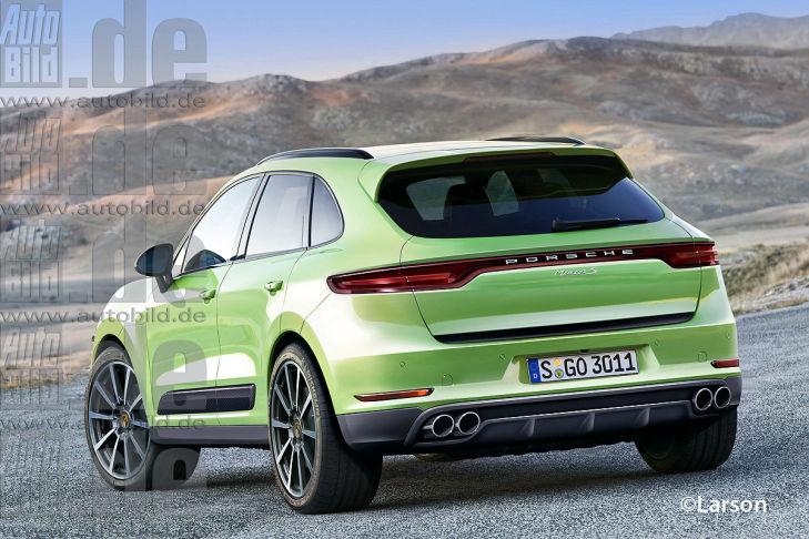 A New Rendering Of The Porsche Macan