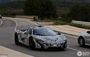 Une McLaren P1 spottée en Espagne !