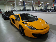 Spotter spots two out of the six McLaren MP4-12C Project Alpha's