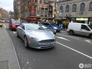 La nouvelle Aston Martin Rapide circule en plein cœur de Londres
