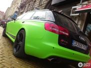 Ámalo u ódialo: Avistado Audi RS6 Avant C6 Verde/Negro.