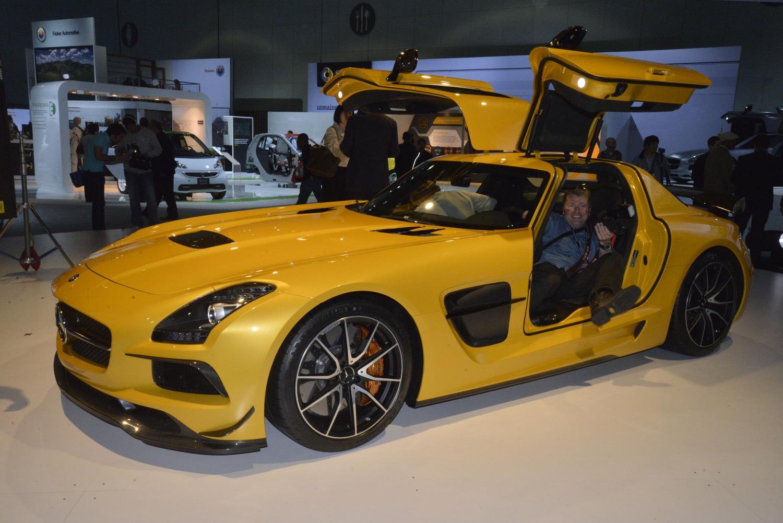 La Auto Show 2012 Mercedes Benz Sls Amg Black Series