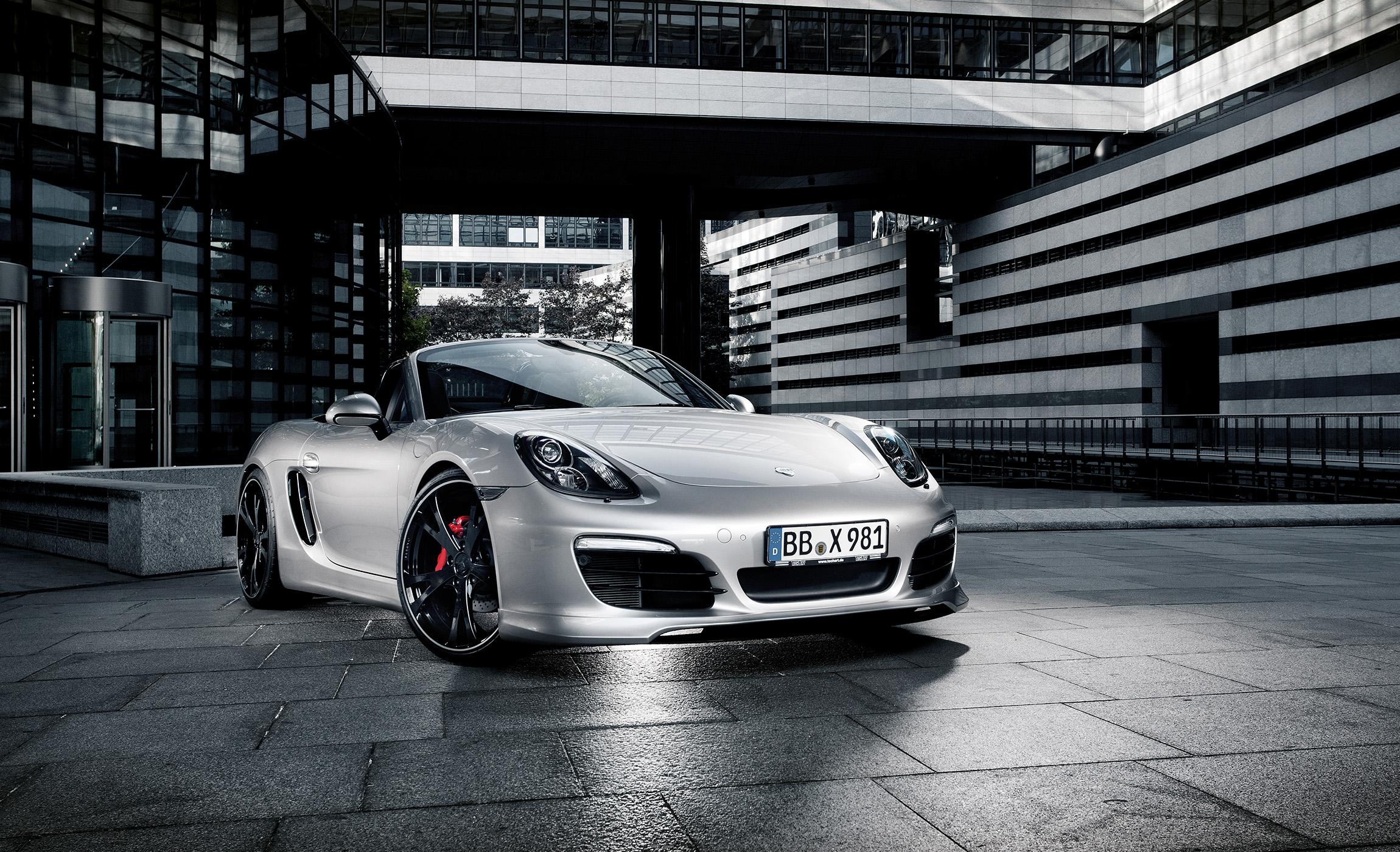 TechArt laat eigen versie Porsche Boxster zien in Essen