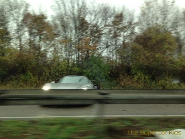 Eerste crash Porsche 918 Spyder een feit?