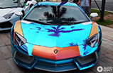 Can't be too crazy in China: check out this Aventador LP700-4!