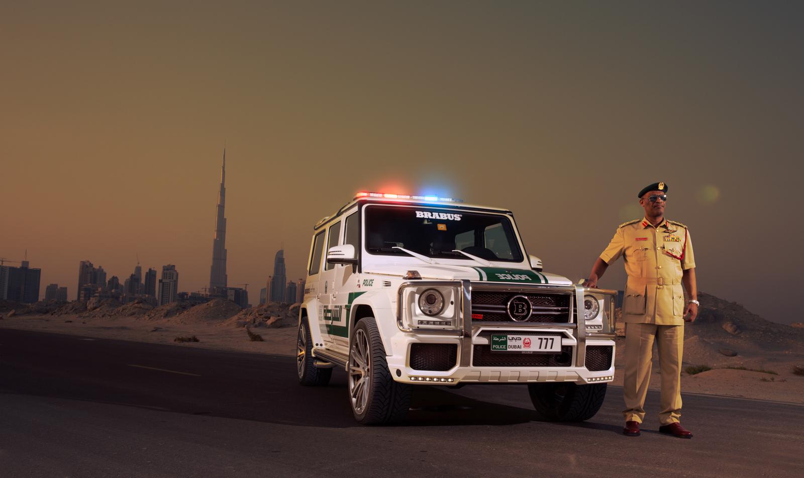 Brabus onthult de G 63 AMG B63S 700 Widestar 'Dubai Police'