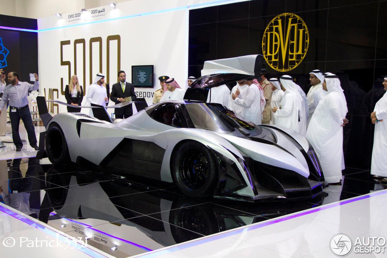Dubai Motor Show 2013 Devel Sixteen