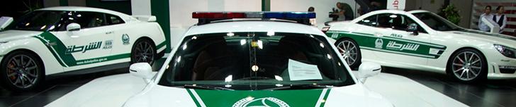 Dubai Motor Show 2013: cuerpos de policía de Dubai