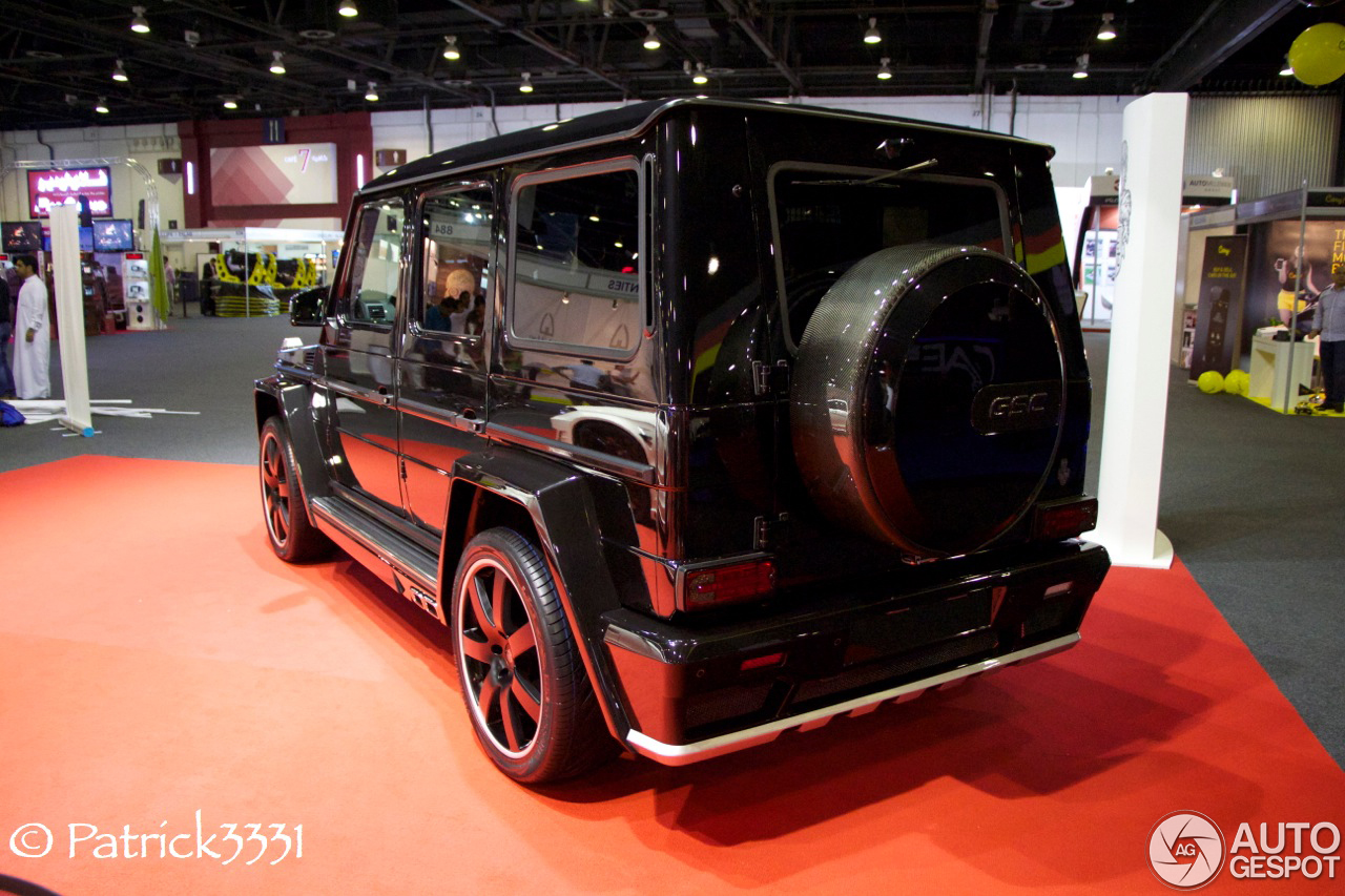 Dubai Motor Show 2013: Mercedes Benz G AMG By German Special Customs