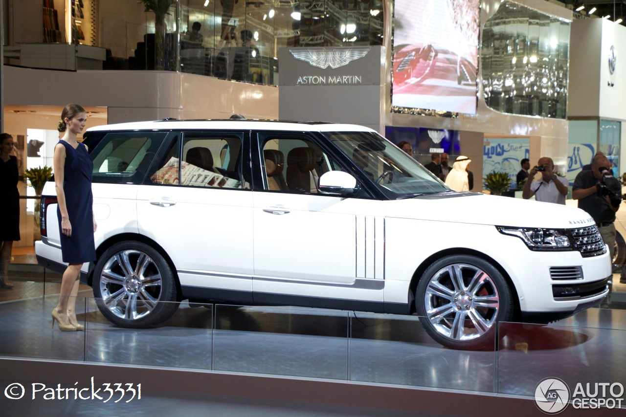 Pikes Peak Rsc >> Dubai Motor Show 2013: Range Rover Long Wheelbase
