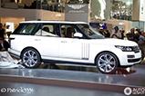 Dubai Motor Show 2013: Range Rover Long Wheelbase