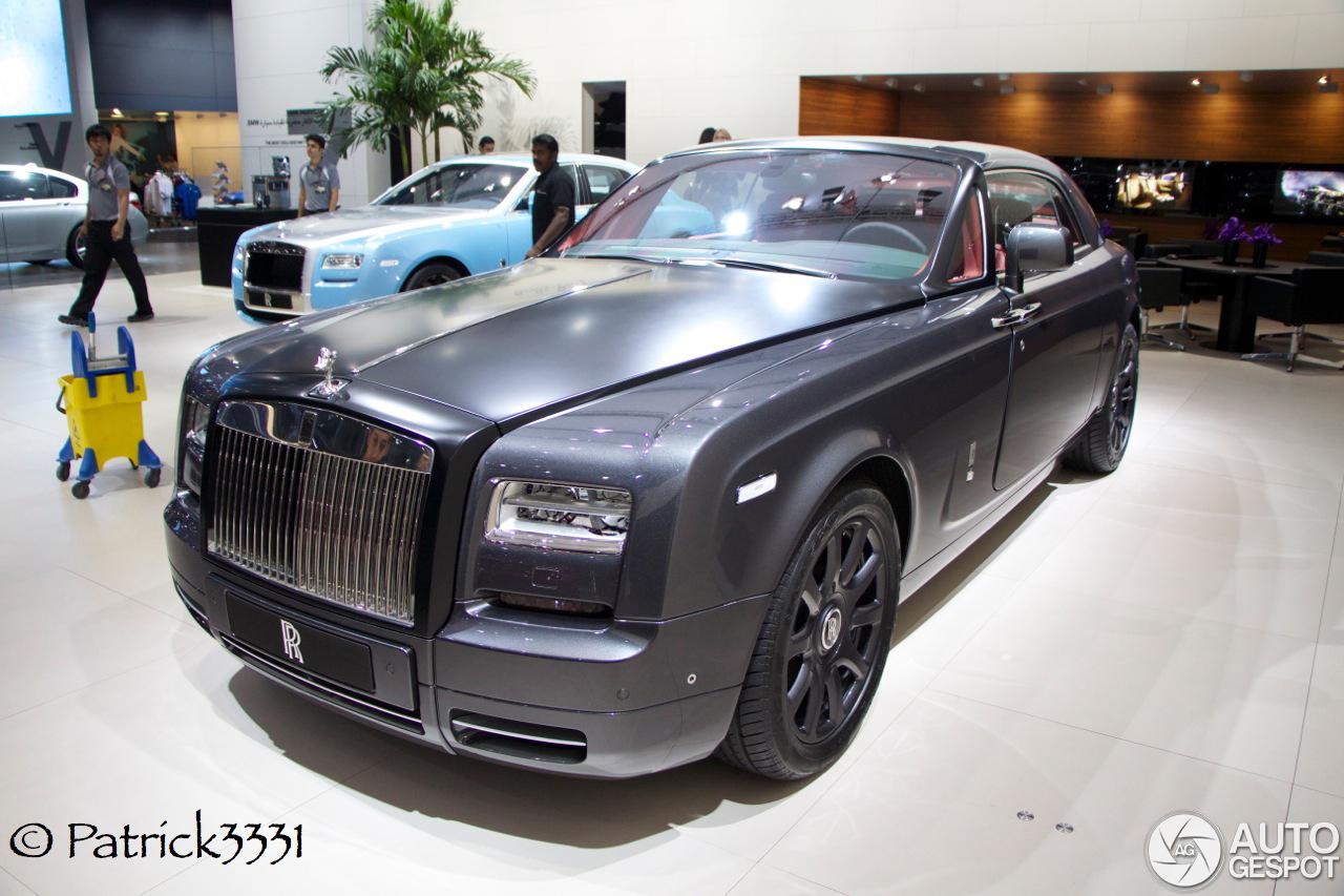 Dubai Motor Show 2013 Rolls Royce Phantom Coup 233 Chicane