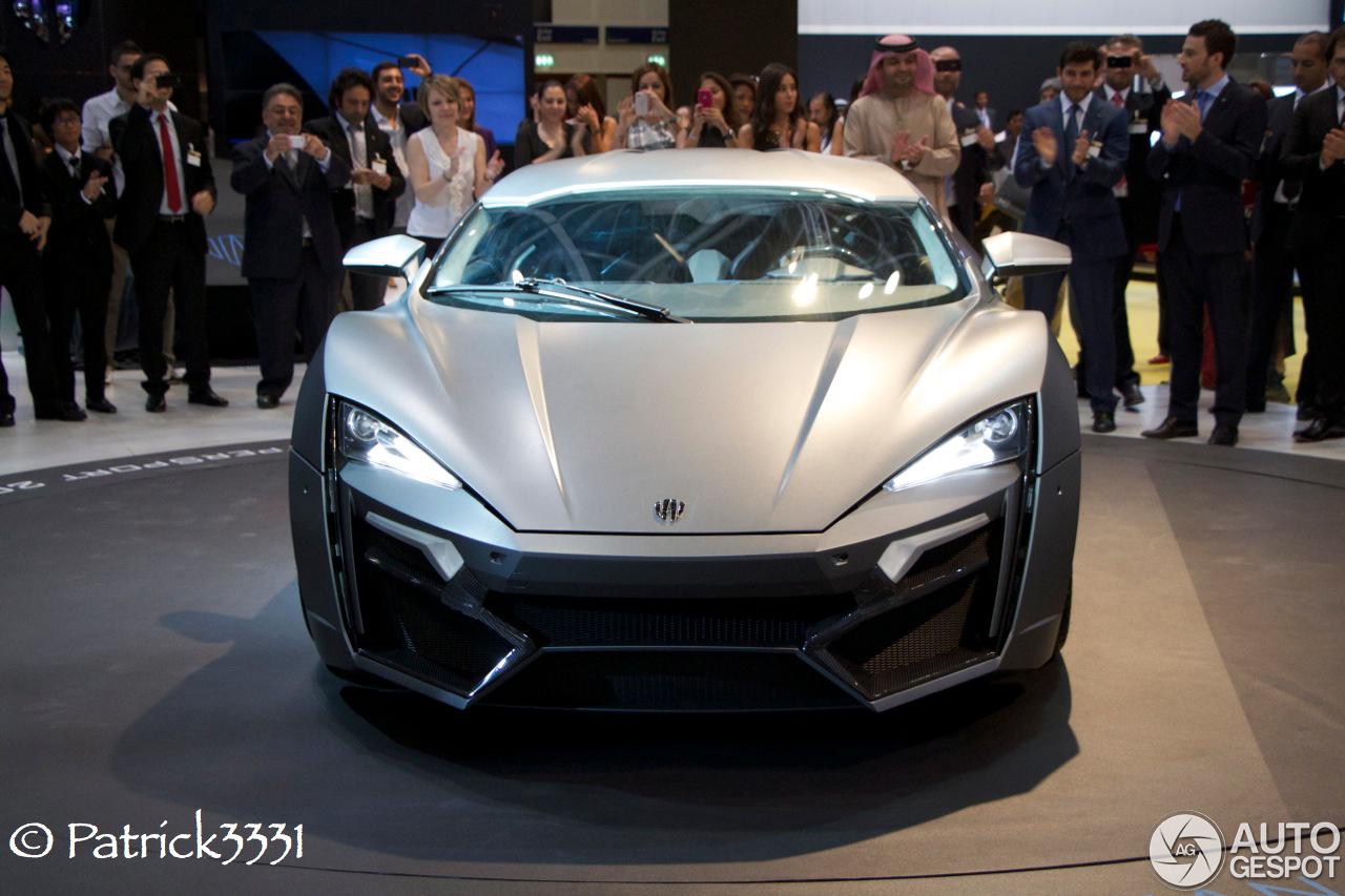 Dubai Motor Show 2013: W Motors Lykan Hypersport