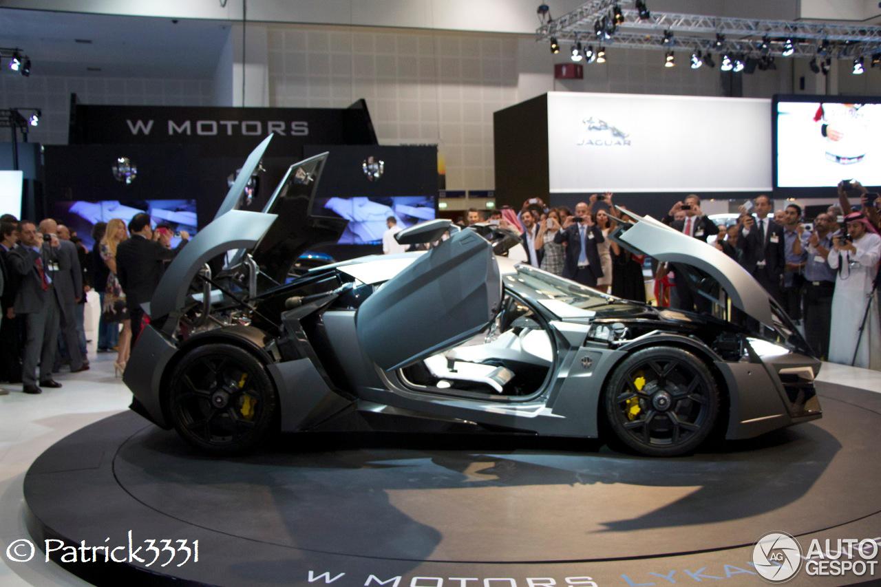 Dubai Motor Show 2013 W Motors Lykan Hypersport