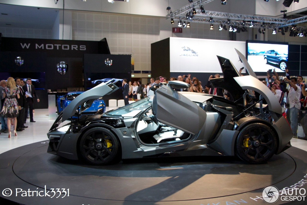 Lykan Hypersport Price >> Dubai Motor Show 2013: W Motors Lykan Hypersport