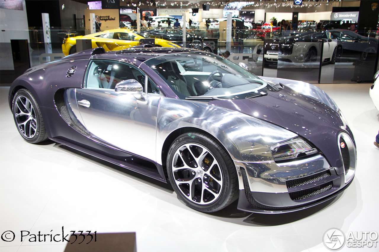 dubai motor show bugatti veyron 16 4 grand sport vitesse x2. Black Bedroom Furniture Sets. Home Design Ideas