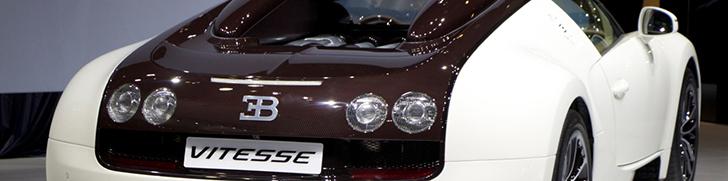 Dubai Motor Show 2013: Two Bugatti's Veyron 16.4 Grand Sport Vitesse