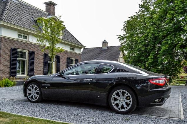 Onvergetelijk, rijden in een Maserati GranTurismo