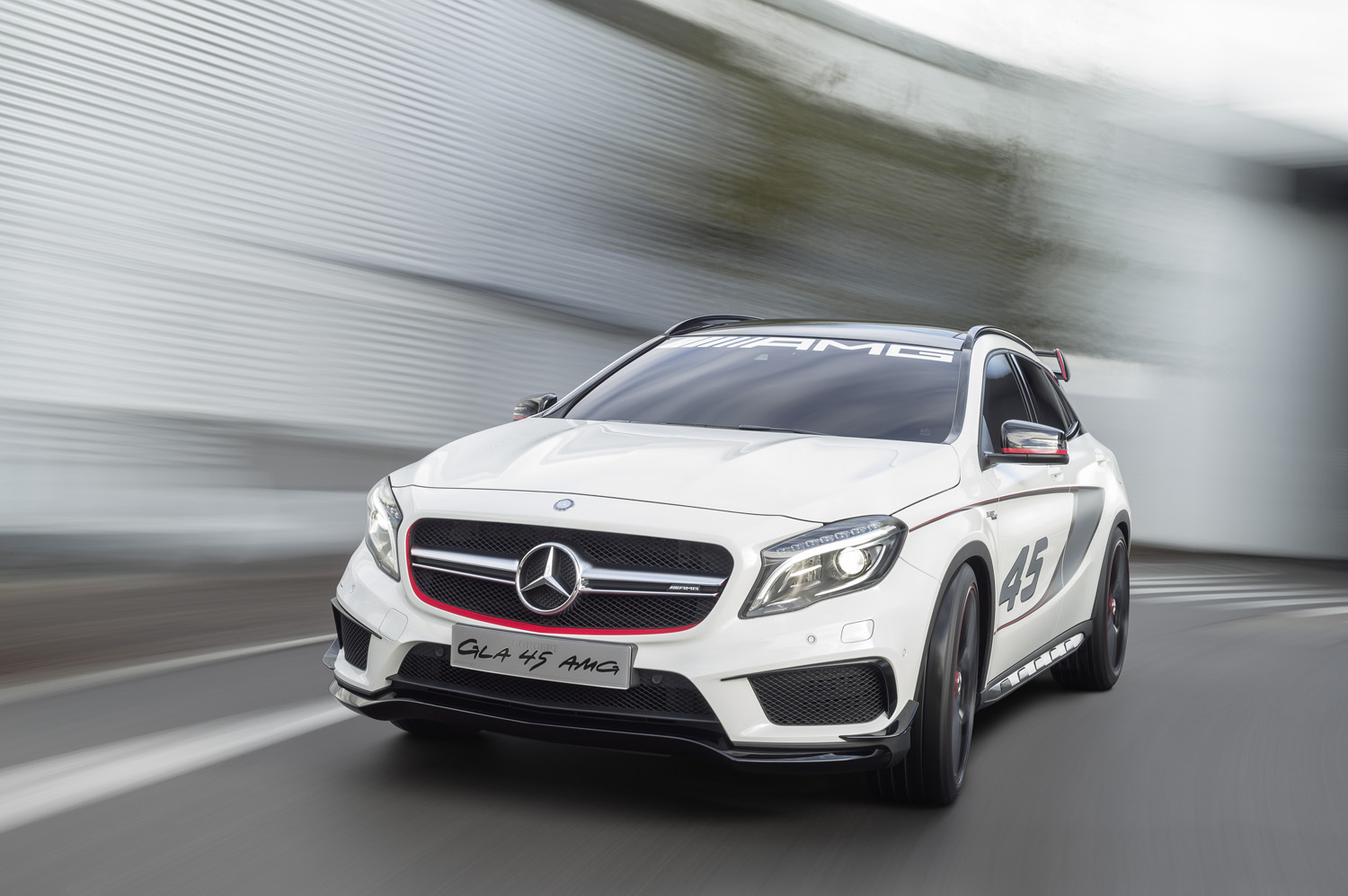 Mercedes benz shows gla 45 amg concept in los angeles for Mercedes benz los angeles