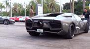 Очень брутальный Lamborghini Cosplay