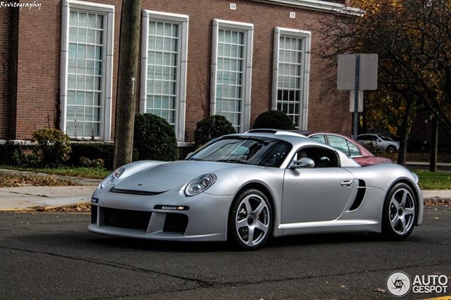Spotted: Ralph Lauren in his RUF CTR3!