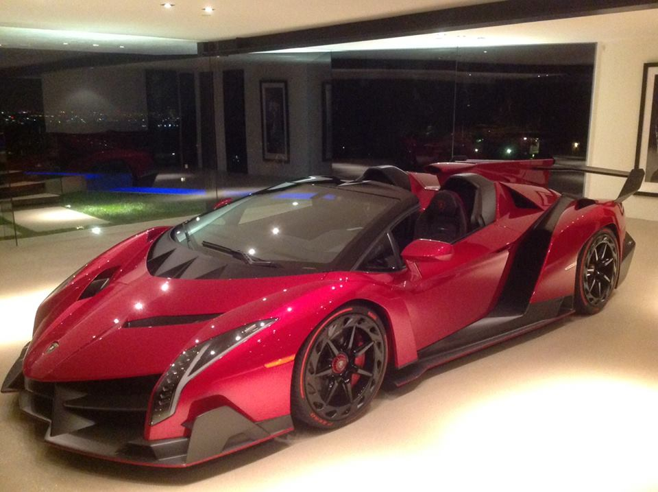 lamborghini veneno black and orange. first lamborghini veneno roadster can be found in beverly hills black and orange t