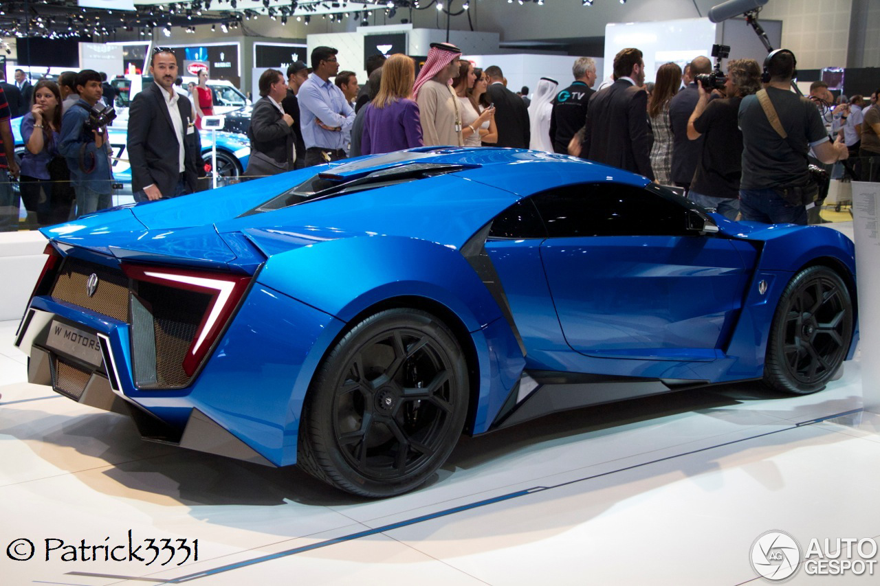 Lykan Car Price >> Dubai Motor Show 2013: W Motors Lykan Hypersport