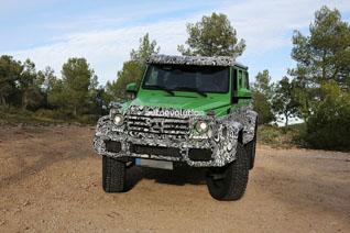 Mercedes gaat lekker door met de G 63 AMG 4x4