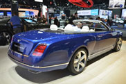 Bentleys Grand Convertible is a pearl in Los Angeles