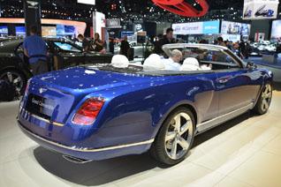 Bentleys Grand Convertible is een parel in Los Angeles