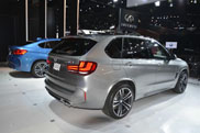 Powerful BMW X5 M and X6 M on the Los Angeles Motor Show