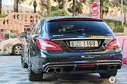 Special Brabus CLS Shooting Brake spotted in Dubai