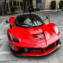 Deze supercars werden in oktober gespot in China