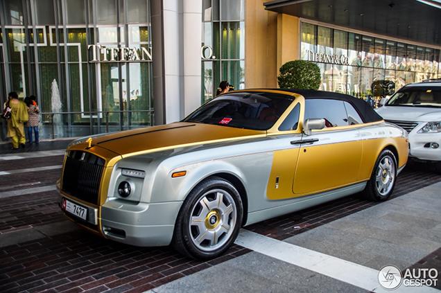 Bijzondere Rolls-Royce Phantom Drophead Coupé oogt als een sieraad