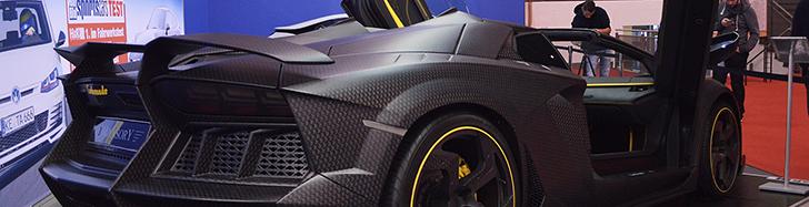 Essen Motor Show 2014: Mansory Carbonado Apertos