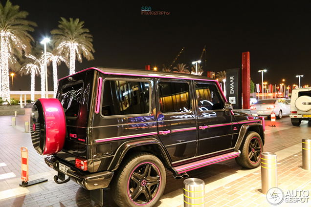 Mercedes Benz G 63 Amg Has A Double Identity