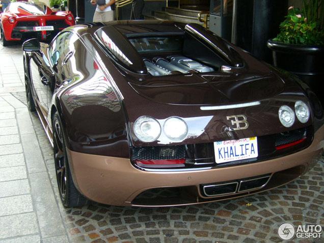 Veyron 16.4 Grand Sport Vitesse Rembrandt maakt wereldreis