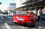 Robert Lewandowski vozi Ferrari F12berlinetta