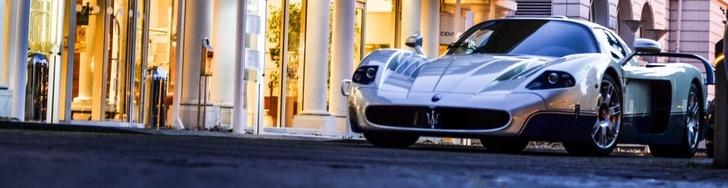 Magnífico spot de un Maserati MC12