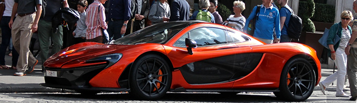 More and more colourful McLaren P1s can be found at Autogespot