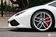 Impresionante Lamborghini Huracán LP610-4 en Paris