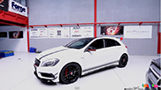 SimonMotorsport builds the most powerful A 45 AMG in the world