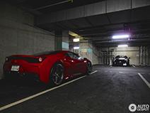 Parkeergarages in Tokyo staan vol met supercars