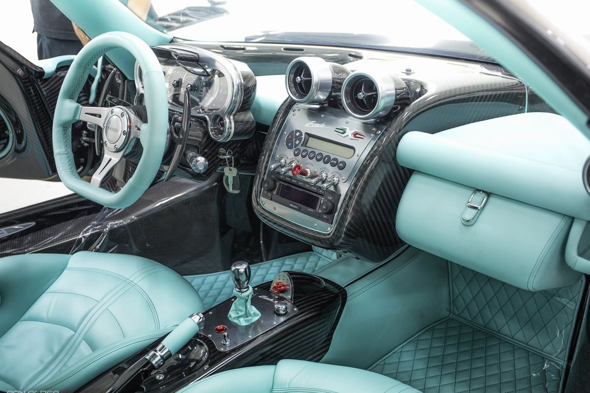 Pagani Zonda 760rsjx Is Almost An Identical Copy Of The